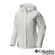 【Columbia 哥倫比亞】女款-鈦Outdry ECO 防水羽絨外套-白色(UWK10050WT /保暖.戶外.機能)