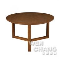 丹麥北歐風 白橡木 全實木 賓士 大茶几 邊几 Benz Coffee Table TTB021 文昌家具