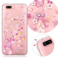 【YOURS】OPPO 全系列 彩鑽防摔手機殼-夢蝶(realme6i/C3/Reno2Z/realme5Pro/A9-2020/XT/R15Pro/AX5s)