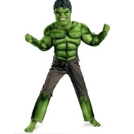 shopping Incredible Hulk Costume Avengers Child Muscle Green Hulk Outfit Jumpsuit Halloween New Year