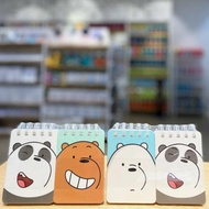 We Bare Bears Note Miniso