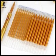 【超熱賣 金色閃光巨無霸佛經筆芯】 抄經筆 結緣中性筆 金色筆芯 子彈頭 文具 原子筆 📝微米文具📝