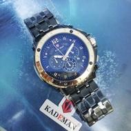 Special Promotion ORIGINAL KADEMAN Japan Enjin Water Proof Men Fashion Wrist Watch