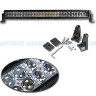 爆亮 雙排 180W LED 長排燈 工作燈 霧燈 RANGER TACOMA 探照燈 聯結車 砂石車 吉普車 投射燈