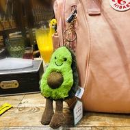 💕Dora💕ins網紅玩偶女生可愛丑萌娃娃掛包公仔牛油果鑰匙圈毛絨玩具掛件吊飾 掛飾