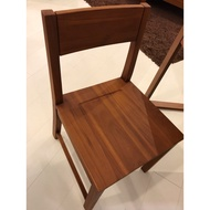 全新!詩肯柚木餐椅 書桌椅