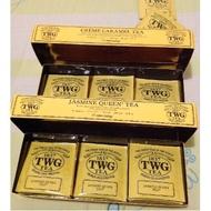 [แบบซองแยก] ชา TWG tea แท้ จากสิงคโปร์ LONDON BREAKFAST TEA, HARMUTTY SFTGFOP1 และอีกหลายแบบให้เลือกสรร
