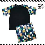 ชุดเซต เสื้อ+ กางเกง ใส่หล่อๆ เที่ยวทะเล