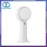 [Ready] Handheld Mini Fan USB Desk Fan Leafless Table Fan USB Rechargeable Cooling Fan