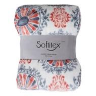 好市多 Softitex 印花保暖毯 152 X 177 公分 500GSM