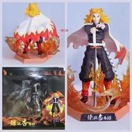Anime Demon Slayer Kimetsuไม่มีYaibaรูปKochou Shinobu Rengoku Kyoujurou PVC Action Figureนักรบรุ่นFigualsของเล่นของขวัญ