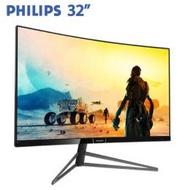 PHILIPS飛利浦 328M6FJRMB 32型HDR400曲面螢幕(2K/MVA/144HZ/D-Sub/HDMI*2/DP/內建喇叭/三年保固)