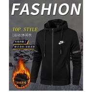 男生刷毛外套 Nike運動外套 耐吉加絨刷毛外套 加厚 保暖 運動外套 運動服 健身服 運動褲 連帽外套開衫 刷毛 風衣