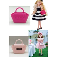 [五色鳥] Licca 正版莉卡娃娃配件/莉卡BIJOU系列手提包/ 娃娃包包