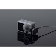 新品dji大疆靈眸Osmo Action運動相機麥克風音頻轉接轉換接口配件