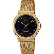 Casio นาฬิกาข้อมือชาย/หญิง สายสแตนเลส รุ่น MQ-24M-1E, MQ-24MG-1E ของแท้ ประกัน CMG