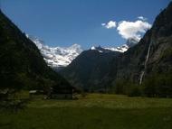 住宿 Ferienwohnung am Schärme 瑞士