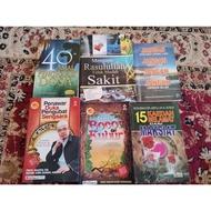 Preloved Buku agama dan buku ilmiah motivasi
