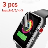 Film Strap For apple Watch band 44mm 40mm 42mm 38mm iwatch series 6 SE 3 4 5 Screen Protector cover BRACELET applewatch band