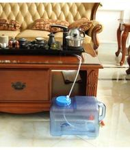 水桶 戶外純凈水桶PC食品級礦泉壺塑料容器儲水桶帶龍頭車載家用儲水箱 WJ【】