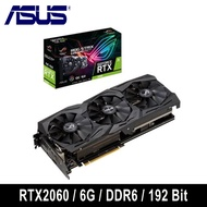 ASUS 華碩 ROG-STRIX-RTX2060-O6G-GAMING 顯示卡