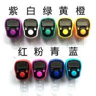 念佛計數器 八個LED燈夜光念佛計數器高品質帶夜燈戒指型念佛計數器卡裝記數『TZ2812』