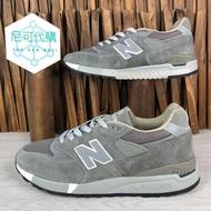 【尼可代購】NEW BALANCE 998 經典 灰 深灰 反光 麂皮 男女鞋 情侶鞋/M998CH