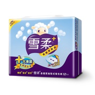 《雪柔》金優質抽取式衛生紙(100抽*12包*6串)