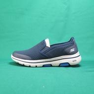 【iSport愛運動】Skechers GO WALK 5 APPRIZE 健走鞋 55510NVY 藍 男款 瑜珈鞋墊