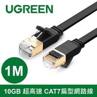 綠聯 1M CAT7網路線 FLAT版