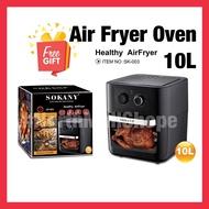 Sokany Air Fryer Oven 10L [READY STOCK]
