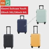 Original Xiao Mi Mi รุ่นเยาวชนกระเป๋าเดินทาง 20 นิ้ว/36L 24 นิ้ว/64L TSA LOCK SPINNER ล้อกระเป๋าเดินทาง Outdoor TRAVEL