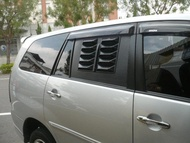 Toyota Innova 2.7 專用車中床組、中門透氣窗組(車床、露營車.T4.T3.GV.得利卡得立卡得力卡)
