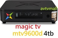 MAGIC TV - MAGIC TV MTV9600D 4TB 4K HDR ANDROID + SET TOP BOX 高清錄影機頂盒 雙系統 dual tuner