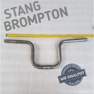 Brompton Coustom Universal Folding Bike Steering Wheel Height 20 cm Raw