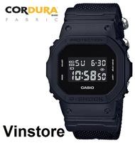 Casio G-Shock CORDURA Nylon Fabric Band All Black Matte Men Sport Watch DW-5600BBN-1 DW-5600BBN-1D DW-5600BBN-1DR DW5600BBN-1D DW5600BBN-1