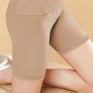 【曼黛瑪璉】魔幻美型 中腰中管束褲S-XL(低調膚)