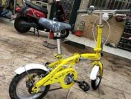 二手 oyama 12吋 兒童折疊腳踏車