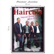 Poster Jumbo HAIRCUTS #RJ53 - ukuran 50 x 70 cm
