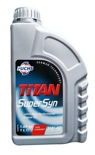 FUCHS  TiTAN Super Syn 5W40 合成機油 #1621