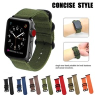 for Apple watch band 44mm 40mm for i Watch band 42mm 38mm NATO strap band Sports Nylon belt wristbands bracelet accessories for Apple watch series 6 5 4 3 2 1 SE women men