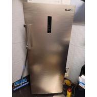 二手 SAMPO聲寶 205L 直立無霜冷凍櫃 SRF-210F(Y)