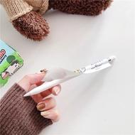 [พร้อมส่ง🚗] ฟิล์มปากกา Apple pencil sticker 1/2 set แบบด้านกันลื่น ลายการ์ตูน แถมฟรี จุกปากกาซิลิโคนอย่างดี💗
