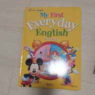 Kidsread 迪士尼圖鑑 My First Everyday English