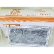 現貨 台灣製 平面口罩 拋棄式口罩 防塵 透氣 獨立包裝 50入/盒(109元)
