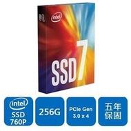 英特爾 Intel 760P 128G 128GB 256G 256GB 512G 512GB 1TB M.2 2280