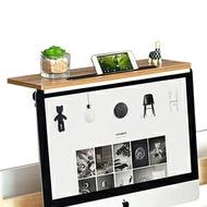 加大電腦螢幕上方置物架(辦公室桌面整理架.電腦桌顯示器增高架.機上盒電視盒架.掛架收納支架遙控器架.屏風書桌隔板收納架.推薦哪裡買ptt)  D145-ZS01