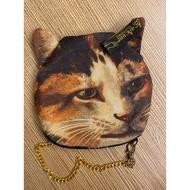 雜誌包 貓頭  小提包 ahcahcum