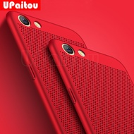 UPaitou Heat Dissipation Case for OPPO R9 R9S R10 R11 F1S F3 Plus A37 A57 A59 Ultra Thin Case PC Slim Cover Back Phone Cover
