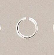 【圓環(特大)10個入】純銀黏土 手作 銀飾 DIY 項鍊手鍊戒指